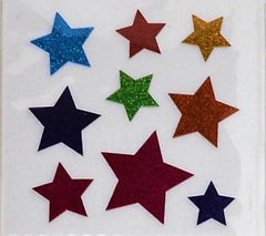 Sandylion Glitter Star Stickers