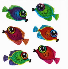 Sandylion Fish Glitter Stickers