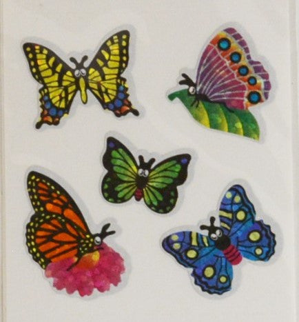 Butterfly Glitter Stickers