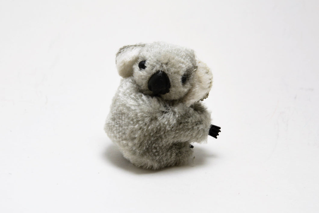 Koala Bear Gray Cuddles Clip