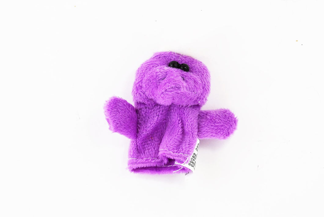 Purple Monster Finger Puppet