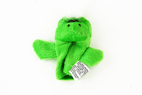 Green Monster Finger Puppet