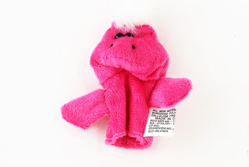 Pink Monster Finger Puppet