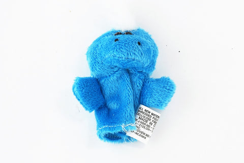 Blue Monster Finger Puppet