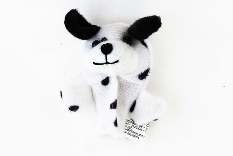 Dog Dalmation Finger Puppet