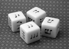 Four Rhythm Dice