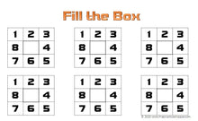 Load image into Gallery viewer, Fill the Box - Brown Rhythm Dice Game