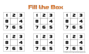 Fill the Box - Brown Rhythm Dice Game