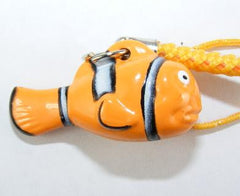 Yellow Fish Bell Charm