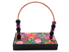 Flowers Painting Bead Counter - Black Base