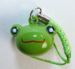 Frog Head Bell Charm