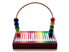 Music Piano Prism Bead Counter