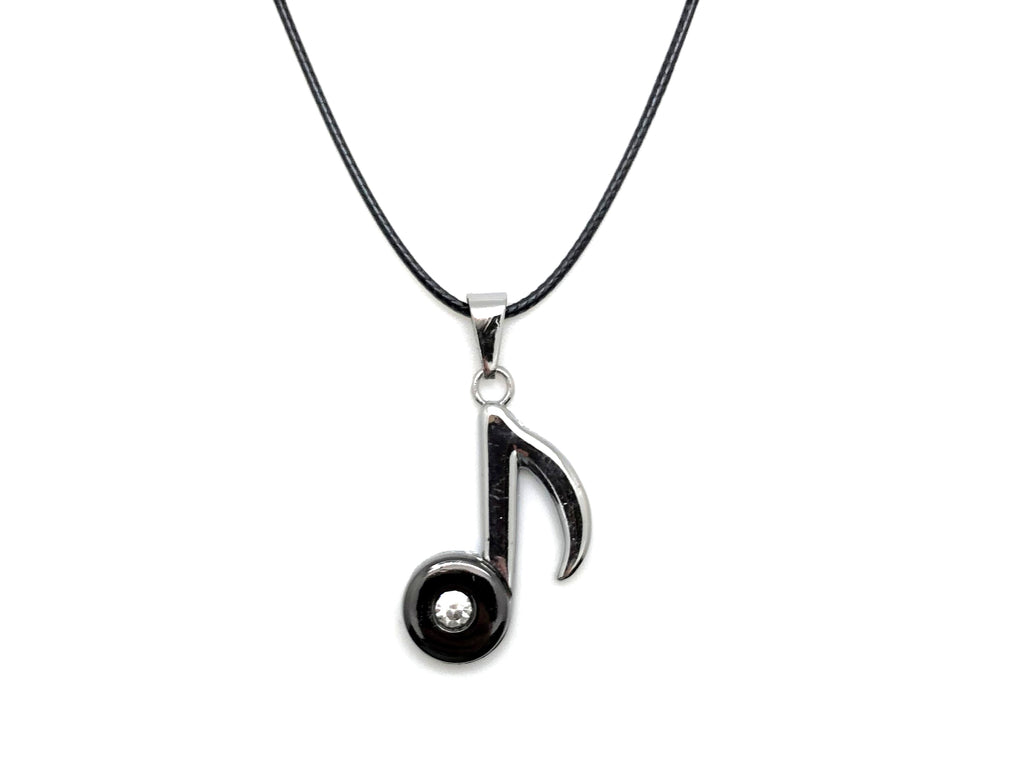 Eighth Note Nylon Cord Necklace | The Practice Shoppe