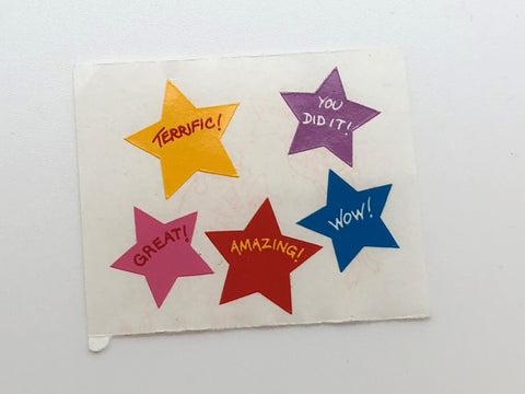 Mrs. Grossman's Stars Stickers