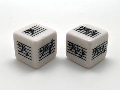 Key Signature Dice - Bass Clef - Basic/Advanced - set of 2