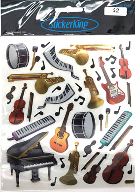 StickerKing Instruments Shiny Stickers