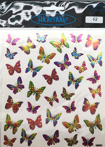 Butterfly Shiny Stickers