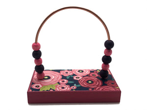 Flowers Rose Berry Bead Counter