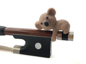 Koala Brown Bow Wrap Bamboo Pen