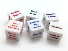 Suzuki Piano Dice Set - Books 1-2