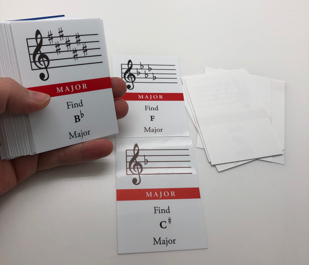 Major Minor: Key Signature Game (Treble)