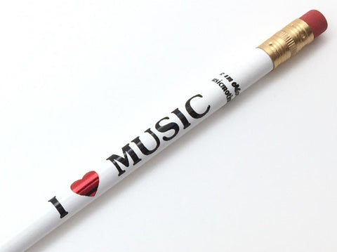 I {heart} Music Pencil