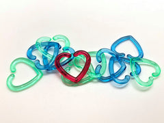 Heart Connecting Links - pkg of 10