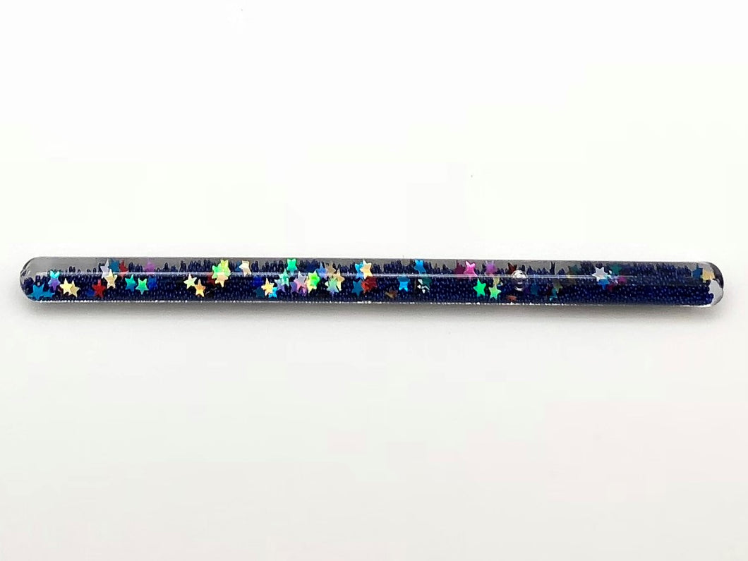 Prismatic Wand - Metallic Dark Blue