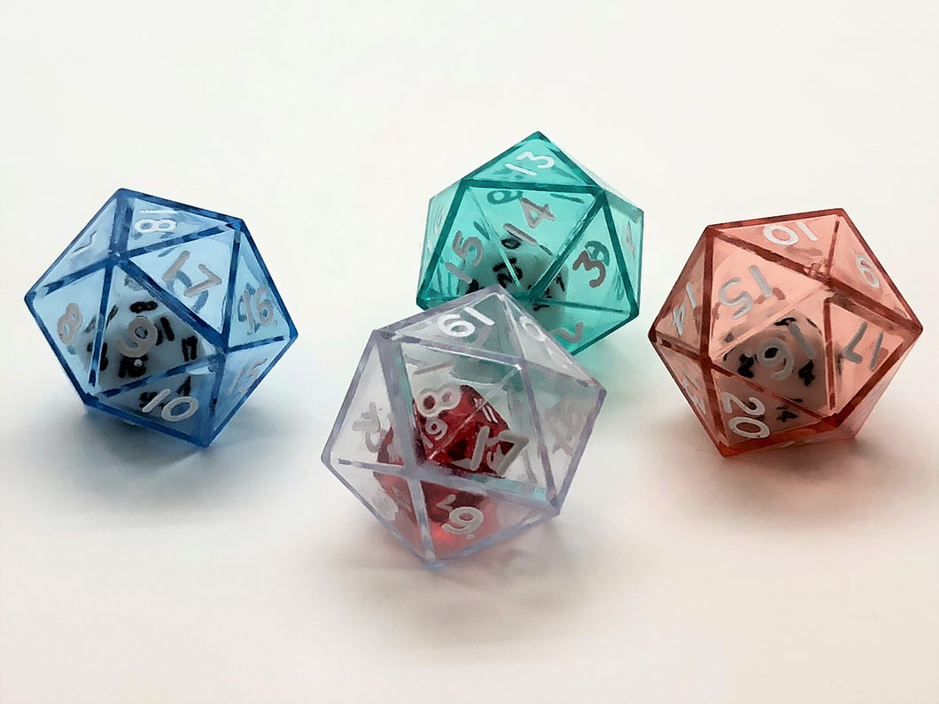 Double Dice 20-sided (d20)