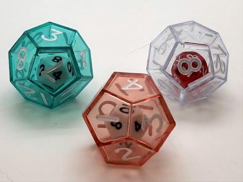 12-sided (d12) Double Dice