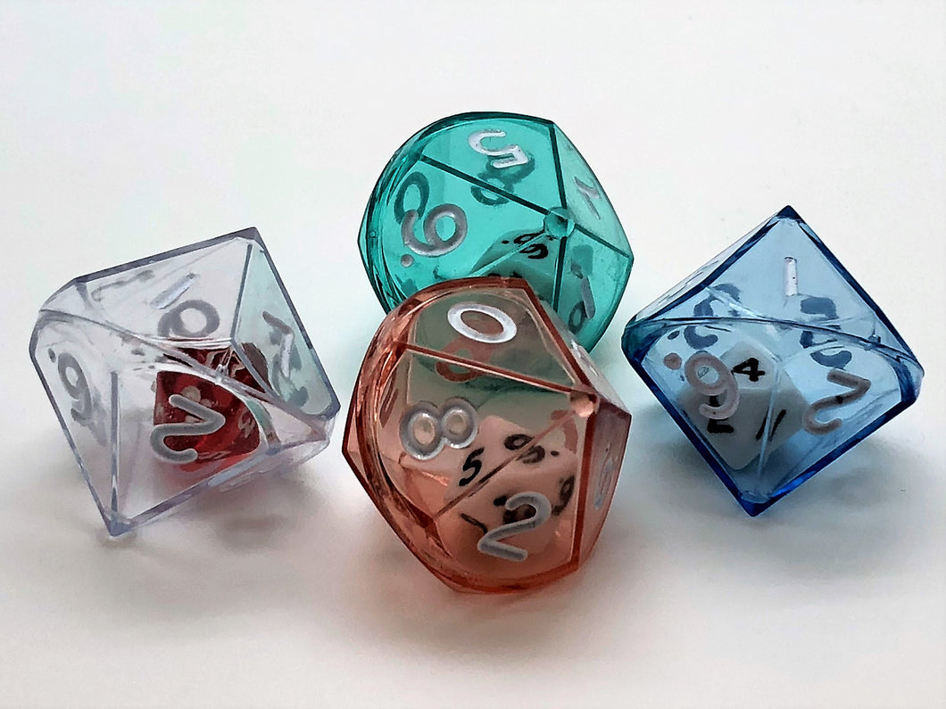 Double Dice 10-sided (d10)