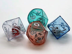 10-sided (d10) Double Dice