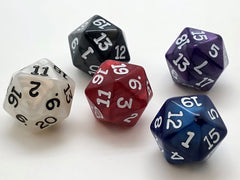 20-sided (d20) 16mm Dice