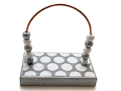Dots Silver Bead Counter