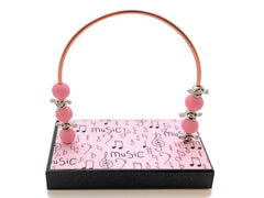 Music Pink Handwritten Bead Counter