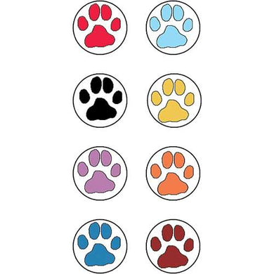 Paw Prints Mini Stickers