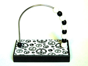 Peace B&W Bead Counter
