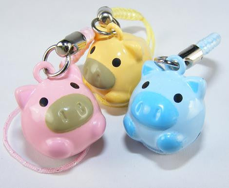 Pigs Bell Charm