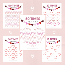 Load image into Gallery viewer, Valentine Chart Bundle