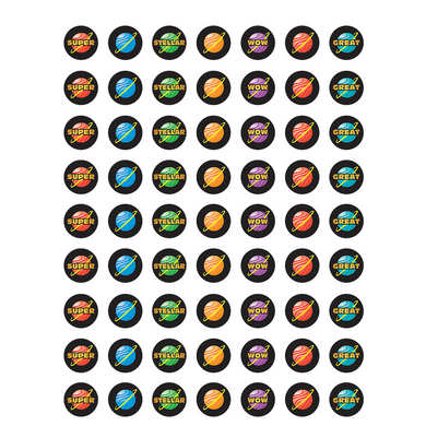 Stellar Planet Mini Stickers