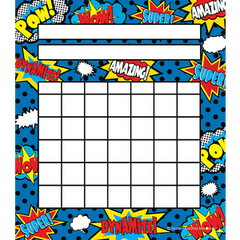Super Hero Incentive Chart