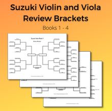 Load image into Gallery viewer, Violin/Viola Review Brackets (Digital Download)