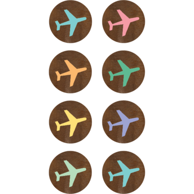 Airplanes Mini Stickers