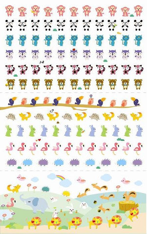 Tiny Animals Stickers