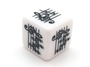 Key Signature Die - Treble Clef - Advanced