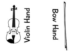 Violin Tattoos - 10 pack