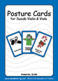 Posture Cards for Violin/Viola