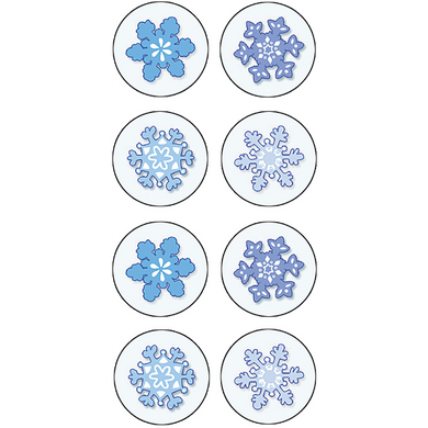 Winter Snow Mini Stickers