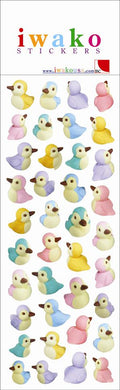 Iwako Birds Stickers