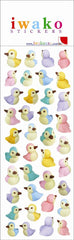 Birds Iwako Stickers